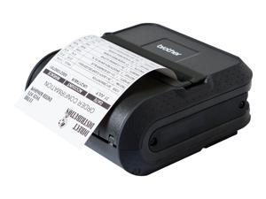 """Brother RJ4040-K RuggedJet 4 Kit: 4"""" Mobile Direct Thermal Receipt/Label Printer, 203 dpi, USB, Serial, Wi-Fi, AirPrint, 32MR RAM/16MB Flash, Tear Up, ZPL II/CPCL"""