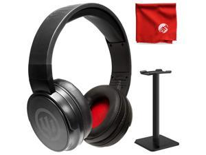 Wicked Audio WI-BT170 Enix Hi-Res Over Ear Stereo Bluetooth Wireless Headphone- Black