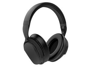 Wicked Audio WI-BTNC1000 Hum 1000  Bluetooth Noise Cancelation Over The Ear Headphones- Black