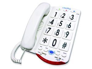 Clarity JV35W Amplified Telephone with Talk Back Numbers