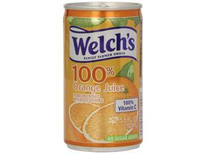Welch's 100% Juice, Orange, 5.5-Ounce Cans (Pack of 48)