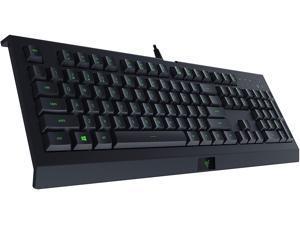 Razer Cynosa Lite Gaming Keyboard: Customizable Single Zone Chroma RGB Lighting - Spill-Resistant Design - Programmable Macro Functionality
