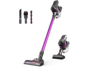 Dibea E19 Lightweight Cordless Vacuum Cleaner 12KPa Powerful Suction 2 in 1 Bagless Rechargeable Vacuum Cleaner Hard Floor Carpets Pet Hair