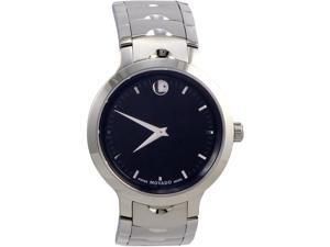 Movado Men's Watch Luno Black Dial 0607041
