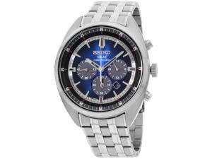 Seiko Recraft Blue Dial Stainless Steel Men's Watch SSC567