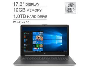 HP 17.3 Inch Laptop 10th Gen Intel Core i5-1035G1, 12GB RAM, 1TB HDD, Windows 10