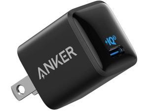USB C Charger, Anker 18W PIQ 3.0 Fast Charger Adapter, PowerPort III Nano USB C Wall Charger for iPhone 12/Mini/Pro/ProMax/11/11 Pro / 11 Pro Max/XR/XS/X, Galaxy S10 / S9, Pixel 3/2, iPad Pro and More