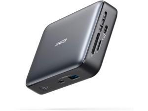 Anker Docking Station, PowerExpand+ 7-in-1 Thunderbolt 3 Mini Dock for USB-C Laptops, Max 45W Charging for Laptop, 4K HDMI, 1Gbps Ethernet, USB-A Gen 2, USB-C Gen 2, SD 4.0 (Power Cord Included)