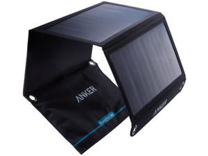 Solar Panel, Anker 21W 2-Port USB Portable Solar Charger with Foldable Panel, PowerPort Solar for iPhone 11/Xs/XS Max/XR/X/8/7, iPad Pro/Air/Mini, Galaxy S9/S8/S7/S6, and More
