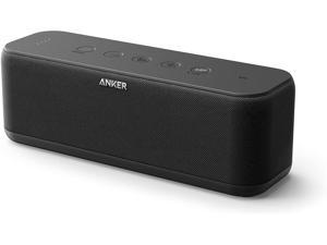 Anker Soundcore Boost Bluetooth Speaker, Portable Speaker with Well-Balanced Sound, BassUp, 12H Playtime, USB-C, IPX7 Waterproof, Wireless Speaker with Customizable EQ via App, Wireless Stereo Pairing