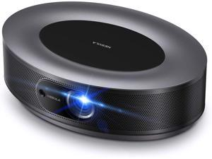 Anker Nebula Cosmos Full HD 1080p Home Entertainment Projector, 1080p Video Projector,900 ANSI Lumens, Android TV 9.0, Digital Zoom, HLG, HDR10,(Onyx Black)