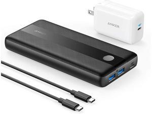 Anker PowerCore III Elite 19200 60W Portable Charger with 65W PD Charger, PIQ 3.0 Power Bank Bundle for USB C MacBook Air/Pro/Dell XPS, iPad Pro, iPhone 12/11/mini/Pro and More