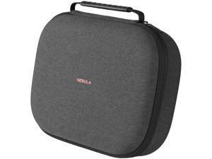 Nebula Solar/Solar Portable Official Carry Case, Nebula by Anker, Polyurethane Leather, Soft Ethylene-Vinyl Acetate Material, Splash-Resistance, Premium Protection Projector Travel Case