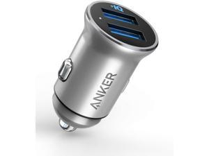 Anker Car Charger Mini 24W 4.8A Metal Dual USB Car Charger Deals