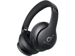Anker Soundcore Life 2 Neo Wireless Headphones, Over Ear Wireless Bluetooth Headphones, 60H Playtime, USB-C Fast Charging, High Bass, AUX Input