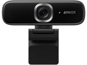 Anker PowerConf C300 Smart Full HD Webcam, AI-Powered Framing & Autofocus, 1080p Webcam with Noise-Cancelling Microphones, Adjustable FoV, HDR, Low-Light Correction, Zoom Certified