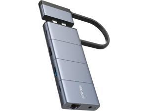 Anker USB C Hub for MacBook, PowerExpand 9-in-2 USB C Hub with 85W Power Delivery, 4K@30Hz HDMI, USB C Multi-Function Port, 2 USB-A 3.0 Ports, 1 Gbps Ethernet, 3.5 mm Audio, SD and microSD Card Reader