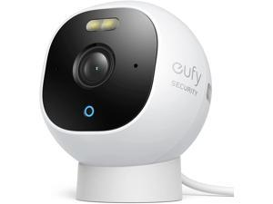 eufy Security Solo OutdoorCam C22, All-in-One Outdoor Security Camera with 1080p Resolution, Spotlight, Color Night Vision, No Monthly Fees, Wired Camera, Security Camera Outdoor, IP67 Weatherproof