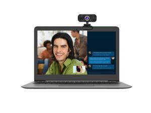 US inventory HXSJ HD Webcam Desktop Laptop Web Camera 720P Web Cam CMOS Sensor with Built-in Microphone for Video Calling SNS online chat