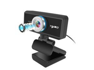 S4 Webcam with Microphone, [Upgraded] QTNIUE FHD Webcam 1080p, Desktop or Laptop and Smart TV USB Camera Plug and Play, Laptop Computer Web Cam for Zoom YouTube Skype FaceTime