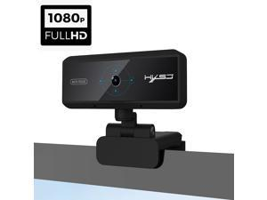 1080P Webcam with Microphone, 2021 HXSJ S3 5MP Streaming Computer Camera, for Zoom Meeting/Skype/FaceTime/Teams/OBS/Xbox/XSplit, Compatible with Mac OS Windows Laptop Desktop PC Monitors