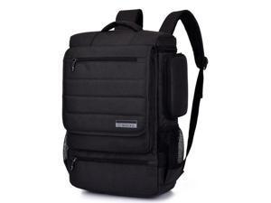 SOCKO Laptop Backpack, Anti-tear Water-resistant Luggage Travel Knapsack Rucksack Backpack Hiking Bag Student College Shoulder Backpack for 17 - 17.3 Inch Laptop Notebook Macbook Computer-Black