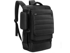 SOCKO Laptop Backpack , Multifunctional Unisex Luggage & Travel Bags Knapsack,rucksack Backpack Hiking Bags Students School Shoulder Backpacks Fits Up to 17.3 Inch Laptop Macbook Computer,Black