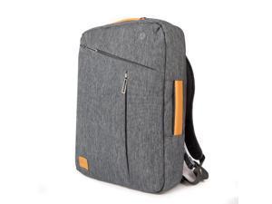 WIWU 15.6 Inch Laptop Briefcase Backpack Waterproof Convertible Multi-functional 3 in 1 Laptop Rucksack Messenger Single-shoulder Backpack for Men Women Business College Travel Satchel School Bag-Gray