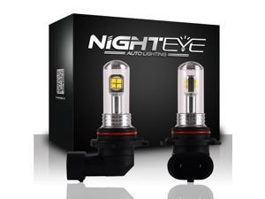 Novsight 9006 HB4 LED Fog Light DRL 80W 3,000 Lumens 6000K High Power Bulb CSP Chipsets White LED Bulbs for Fog Light Lamps Replacement 2 Year Warranty