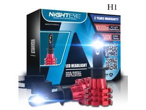 NOVSIGHT H1 LED Headlight Single Beam 60W(2x30W) 10000LM(2x5000LM) 6500K Cool White - 2 Year Warranty