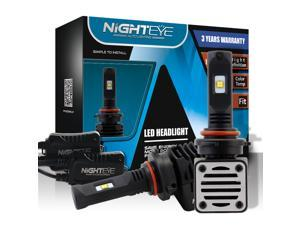 Novsight 9005 / HB3 Car LED Headlight Bulbs, 80W 12000LM 6500K Cool White