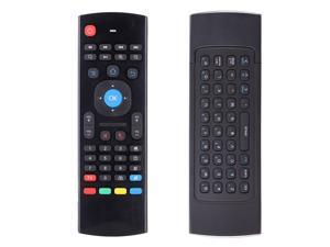 LUOMs Updated 2.4G Fly Air Mouse MX3 Wireless Remote Control for Smart TV TV box