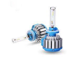 880 70W LED Headlight Bulbs All-in-One Conversion Kit,7200 Lumen (6000K Cool White)
