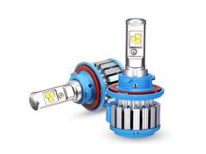 H13/9008 Hi/Lo 70W LED Headlight Bulbs All-in-One Conversion Kit,7200 Lumen (6000K Cool White)