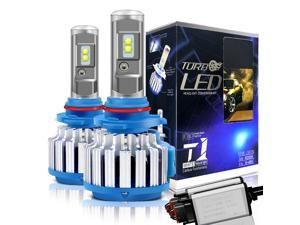 9006/HB4 LED Headlight Bulbs Convex LED Chilps 70W 6000K 7200LM High Beam/Low Beam/Fog Lights Cool White Conversion Kit+ Canbus-2 Yr Warranty