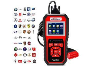 KONNWEI KW850 Professional OBD2 Scanner Auto Code Reader Car Diagnostic Tool Check Engine Light Scan Tool for OBD II Cars After 1996 (Upgraded Version)
