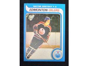 NHL WAYNE GRETZKY, EDMONTON OILERS ROOKIE CARD #18, O-PEE-CHEE REPRINT, MINT