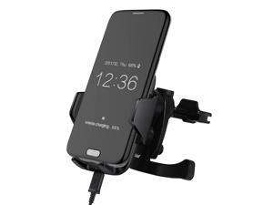 Lian LifeStyle Super Intelligent Wireless Charger for Samsung, iPhone or Any QI-Enable Smartphone LY CW12 Vent Mount
