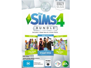 The Sims 4 Bundle Pack 4 [Download Code] - PC/Mac