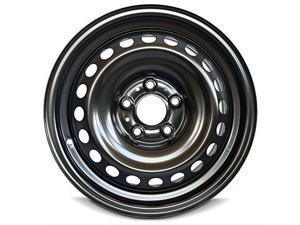 New 16x6.5 Nissan Rogue (08-15) 5 Lug Black Full Size Replacement Steel Wheel Rim
