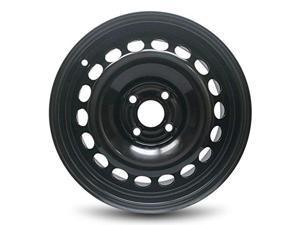 New 15x6 GM Chevrolet Cobalt (07-10) Pontiac G5 (05-06) Pursuit 4 Lug Black Replacement Steel Wheel Rim