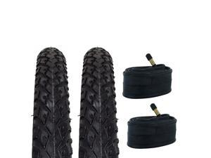 Zol Bundle Pack of 4 bike inner tube 700x23FV-60mm /& 3 Zol Tires Levers