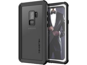 Ghostek Nautical Galaxy S9 Plus Waterproof Case with Screen Protector Slim Extreme Heavy Duty Protection Tough Shockproof Full Body Underwater Watertight Seal for 2018 Galaxy S9+ (6.2 Inch) - (White)