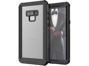 Ghostek Nautical Galaxy Note 9 Waterproof Case with Screen Protector Slim Extreme Heavy Duty Protection Tough Shockproof Full Body Underwater Watertight Seal for 2018 Galaxy Note9 (6.4 Inch) - (Black)