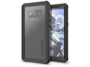 Ghostek Nautical Galaxy Note 8 Waterproof Case with Screen Protector Slim Extreme Heavy Duty Protection Tough Shockproof Full Body Underwater Watertight Seal for 2017 Galaxy Note8 (6.3 Inch) - (Black)