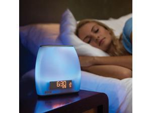 iHome Zenergy Bedside Sleep Therapy Machine with Bluetooth Clock Radio - iZBT10W