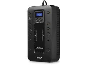 CyberPower EC850LCD-R 850VA/510W Ecologic Series Uninterruptible Power Supply. New Battery. 1-Year Warranty.