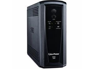 CyberPower CP900AVR-R-1 CPS Tower AVR 900VA/560W 8 Outlets UPS. New Battery. 1-Year Warranty.
