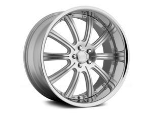 Concept One Rs-10 20X10 5X120 +40Et Silver Machined Wheels Rims
