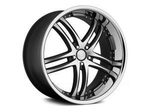 Concept One Rs-55 22X10.5 5X120 +35Et Matte Black Machined Wheels Rims